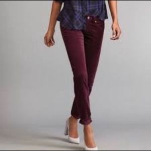 Cabi vino corduroy pants skinny